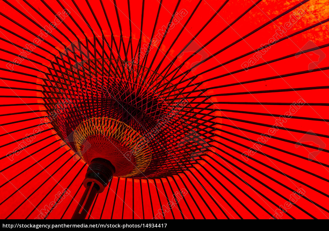 japanese, traditional, red, umbrella - 14934417