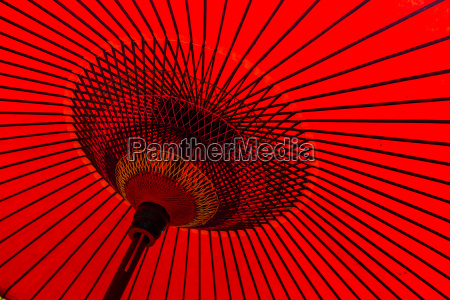 red, umbrella - 14934429