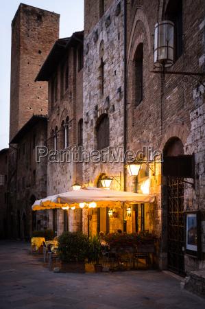 city of medieval caffe