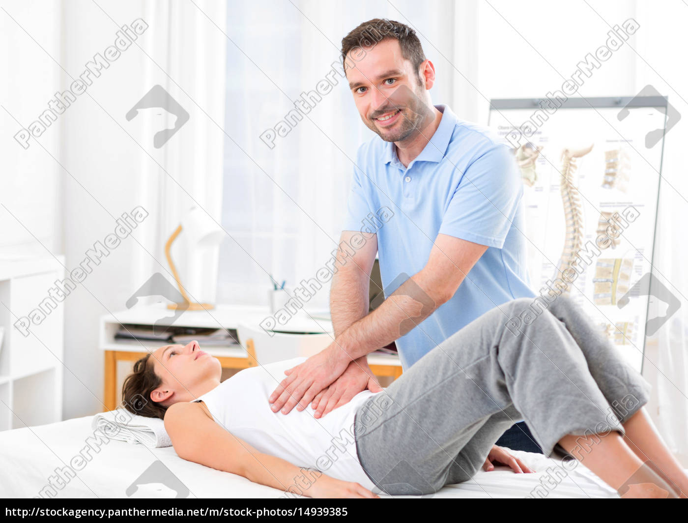 young, attractive, woman, being, manipulated, by - 14939385