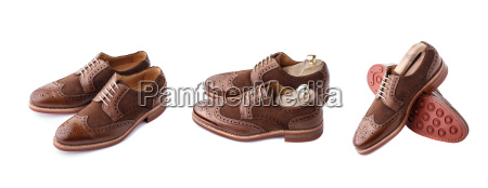 brogues, set, isolated - 14940887