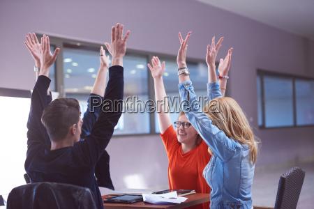 happy, students, celebrate - 14940063