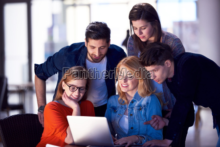 students, group, working, on, school, - 14940065