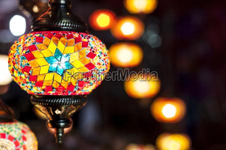 mosaic, hanging, lamps - 14941345