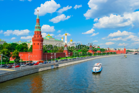 moscow, kremlin, and, moscow, river - 14941185