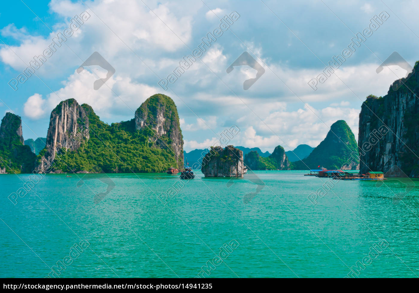 rock, islands, in, halong, bay - 14941235