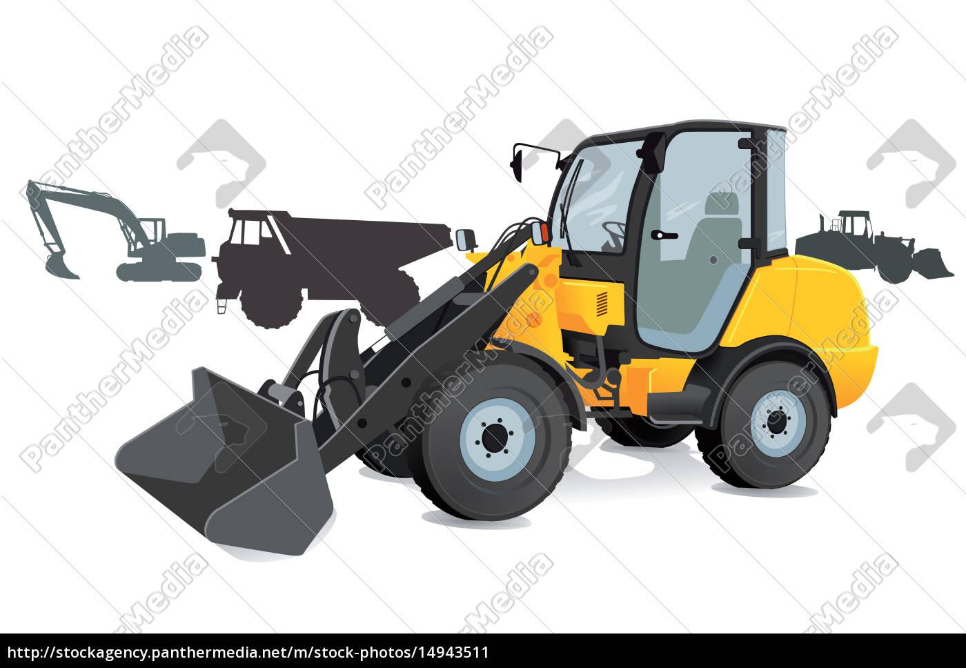 construction, equipment, -, buckets, excavators, trucks, - 14943511
