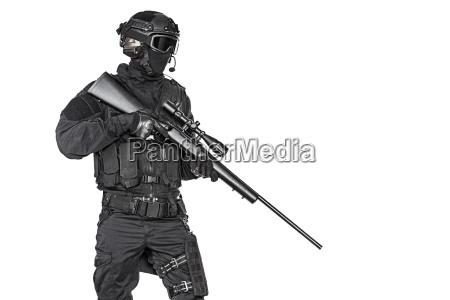 police officer swat