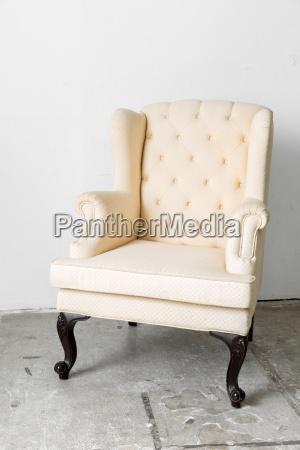 beige, retro, chair - 14947725