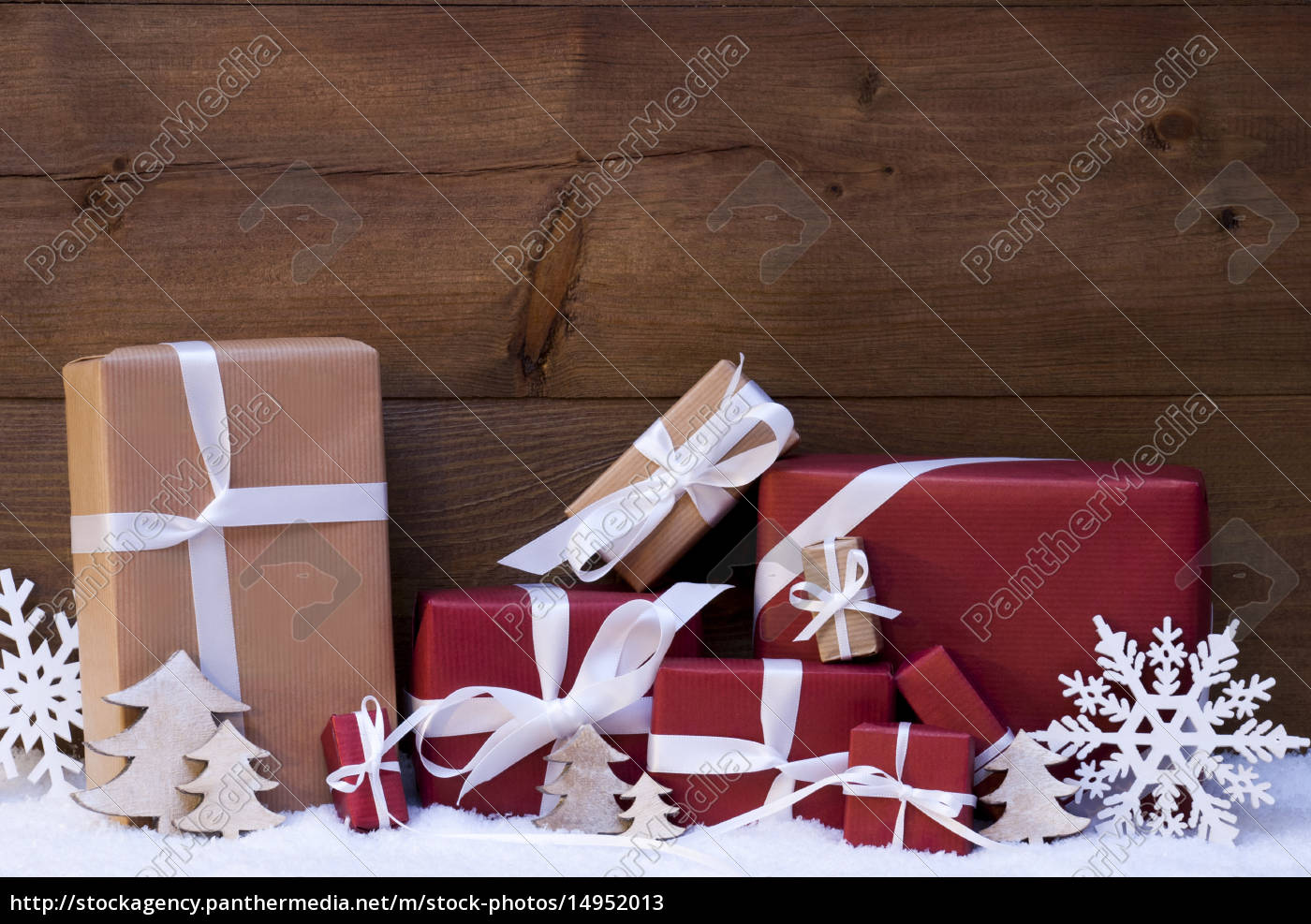 red, christmas, gifts, and, decoration, with - 14952013