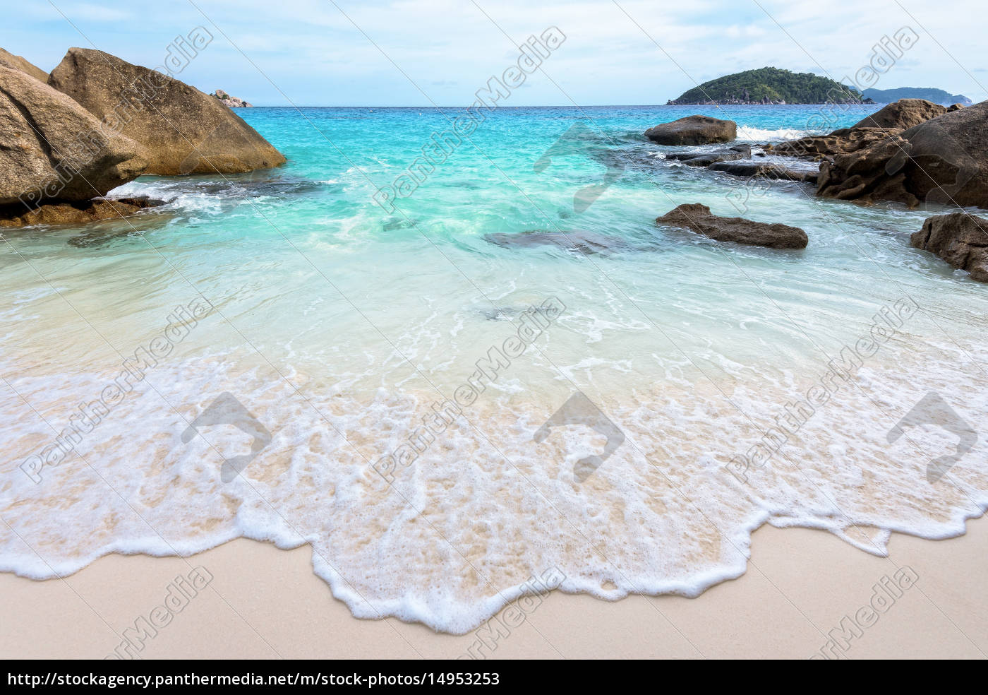 summer, beach, in, thailand - 14953253
