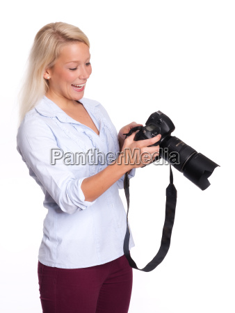 experienced photographer a photo in the