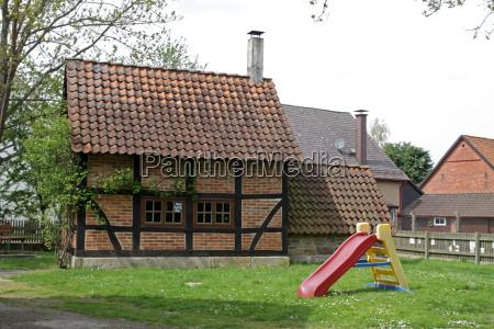tudor style house in fuhlen