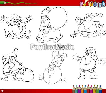 christmas themes coloring book