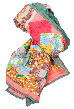 silk scarf in the style of