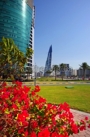 high rise and architecture in manama
