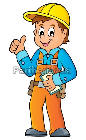 construction worker theme image 3