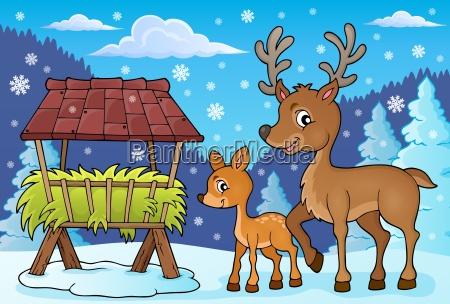 deer theme image 4
