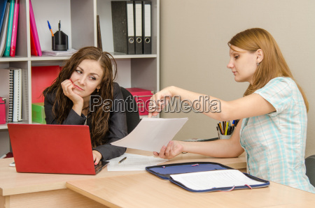 visitor records show sad office specialist