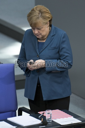 policy statement in the german bundestag
