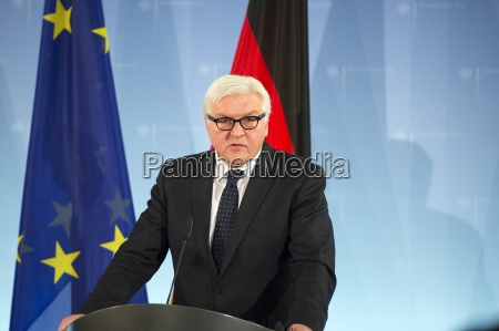 foreign minister frank walter steinmeier and