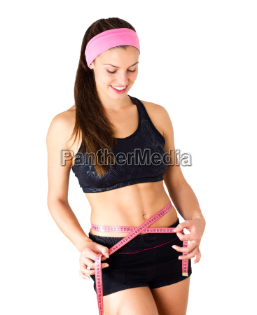 slim fit diet weight measuring waist