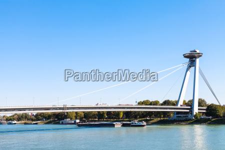 most snp bridge over danube river