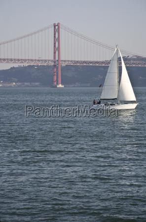 sailing on lisbon