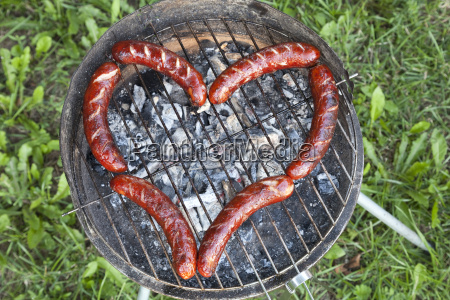 heart with sausage