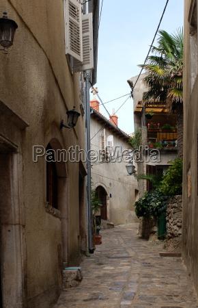 alley in baska