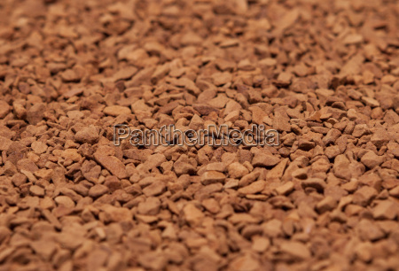 scattered ground coffee