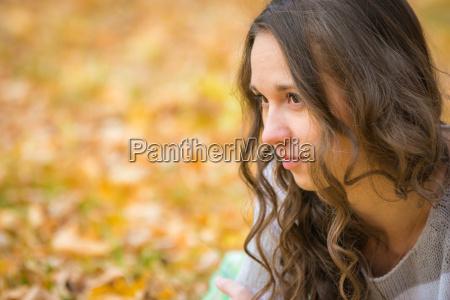 close up portrait of a beautiful
