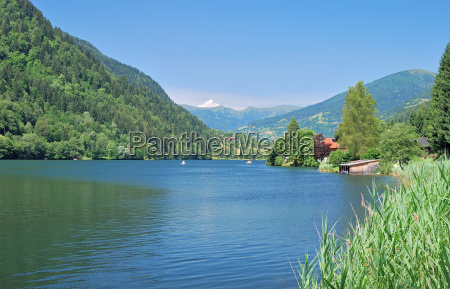 afritzer see in carinthia austria