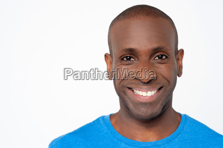 african american with a bright smile