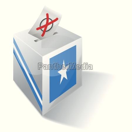 election box somalia
