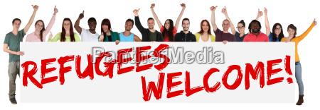 refugees refugees welcome welcome welcome culture