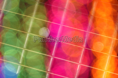 colored guitar background
