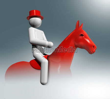 equestrian dressage 3d symbol olympic sports