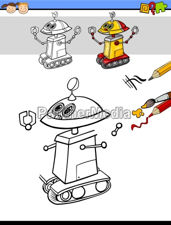 drawing and coloring task for kids