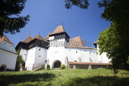 fortified church of viscri unesco heritage