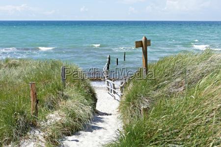 west beach baltic sea