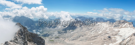 zugspitze panorama germany