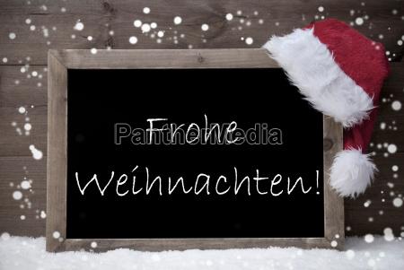 gray card chalkboard frohe weihnachten mean