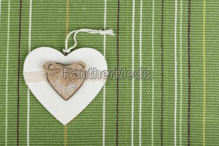 valentines wooden hearts