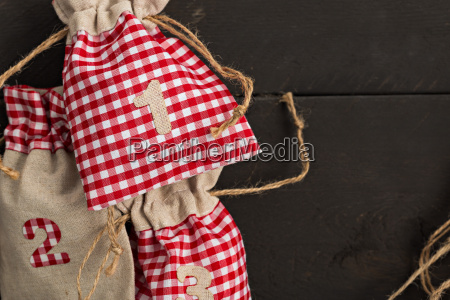 advent with wooden background christmas