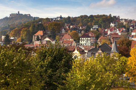 the city of eisenach in thuringia
