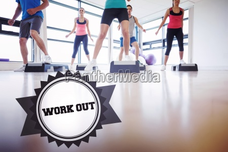 work out against badge