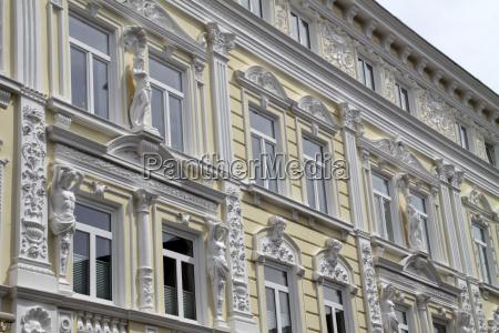 house facade in stadthagen
