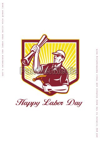 labor day greeting card builder plan