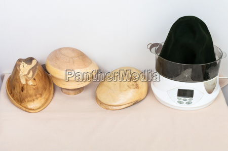 wooden hat blocks made for shaping